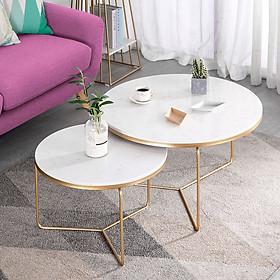 Cặp bàn trà Sofa mặt đá, bàn cafe, coffee, bàn salo, sofa BTS-25