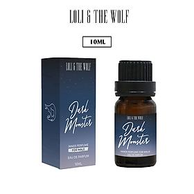 Nước hoa vùng kín dành cho nam Dark Monster Eau De Parum chai 10ml  - LOLI & THE WOLF