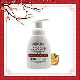 Nước rửa tay hữu cơ diệt khuẩn dạng bọt tinh dàu Cam 250ml thương hiệu Ecocare