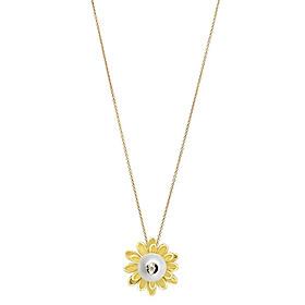 Dây Chuyền Galatea Jewelry Diamond In A Pearl 2100.04YW - Trắng