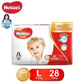 Tã quần Huggies Pants Gold L28