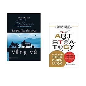 Combo 2 cuốn sách: Ta Dại Ta Tìm Nơi Vắng Vẻ + Nghệ thuật tư duy chiến lược