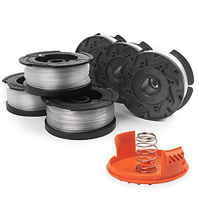 Spool+Spool Cap +Spring for Black & Decker AF-100