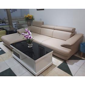 Bộ Sofa Cao Cấp Mini Chung Cư - Ghế salon Đẹp Sang Trọng - Góc L Phải