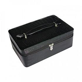 Hình đại diện sản phẩm Fashion 40 Slots Essential Oil Carrying Case Zipper Closure Storage Bags Portable Holder Case Box for 15ml Bottles