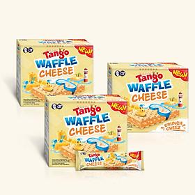 COmbo 3 Bánh Xốp Tango Waffle Vị Phô Mai 160gr (8gr x 20pcs)
