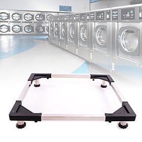 kệ kê chân tủ lạnh máy giặt chân inox tiện dụng