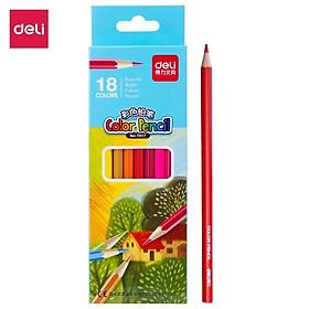 Bút chì màu học sinh Deli - 12 màu/18 màu/24 màu/36 màu - 7016/7017/7018/7019