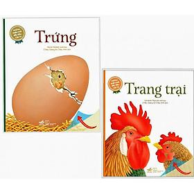 Combo 2 cuốn Những Khám Phá Đầu Tiên Của Tớ: Trang Trại+ Trứng ( Tặng kèm bookmark Happy Life )