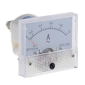 Accurate 85L1 AC Analog Panel Ammeter Gauge Ampere Current Meter