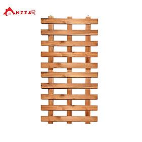 Kệ gỗ treo tường ban công, kệ trang trí ban công Anzzar, giá gỗ thông treo tường trang trí , ngoại thất đẹp, treo cây, hoa