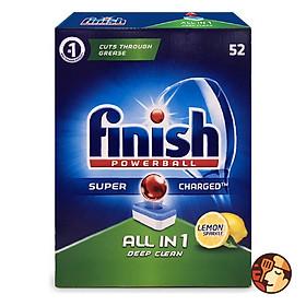 Viên rửa bát Finish All in One 52