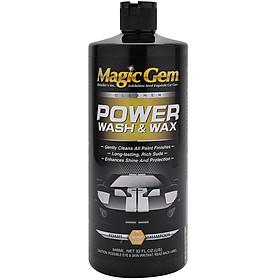 Nước Rửa Xe Bọt Tuyết Power Wash & Wax Magic Gem G5232 (946ml)