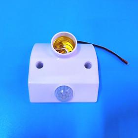 Đuôi bóng đèn cảm ứng hồng ngoại trắng APH-RT820