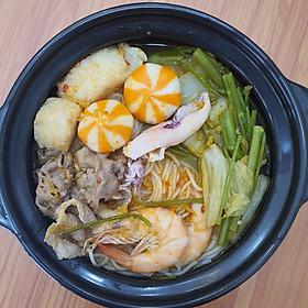 Goimon.net - Hotpot House- Bún hải sản chua cay phần 1 người ăn
