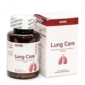 Thực phẩm bảo vệ sức khỏe Viên nang GNS Lung Care( Bổ phổi, thải độc phổi tăng cường hệ hô hấp)
