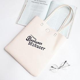 IELGY One shoulder bag fashion casual handbag simple fashion big bag tote bag