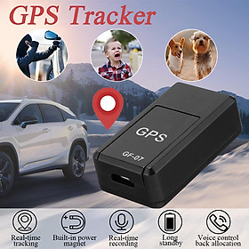 GF07 Car Magnetic GSM Mini SPY GPS Tracker Real Time Tracking Locator Device