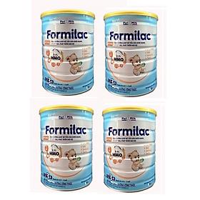 Bộ 4 Lon Sữa công thức Formilac Optipro số 3 (1-2 tuổi) - 900g