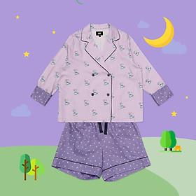BT21 x HUNT Crop Pajama Set Koya HIPP91201T