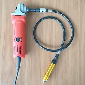 bộ dây nối dài cốt 6mm dùng cho máy mài khuôn máy khoan thẳng hoặc bộ bộ dây truyền động cho máy cắt máy mài cắt trục M10