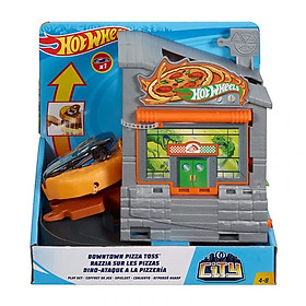 Cửa hàng Pizza Toss Hot Wheels City GFY68/FRH28