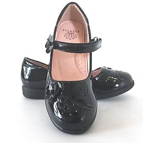 Giày Búp Bê Bé Gái Crown Uk Basic Ballerina Crown Space CB3024.18
