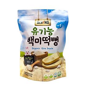 Bánh gạo ăn dặm hữu cơ cho bé nhiều vị khác nhau - Alvins