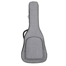 Sunnimix Chống Nước Đệm Mềm Mại Ốp Lưng Đàn Guitar Bỏ Túi Ba Lô Cho 40/41 Inch Gỗ Acoustic, 62.99X17.32X5.71 Inch