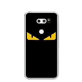 Ốp lưng dẻo cho điện thoại LG V30 - 0160 MONSTER02 - Hàng Chính Hãng