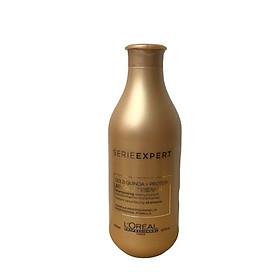 Dầu gội phục hồi tóc L'oreal Serie Expert Gold Quinoa + Protein Absolut Repair Instant resurfacing shampoo 300ml