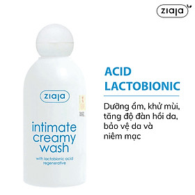 Dung dịch vệ sinh phụ nữ Intimate dạng kem with Lactobionic Acid