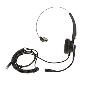 VH510 Office Call Centre Customer Service Headset Microphone RJ9 Connector