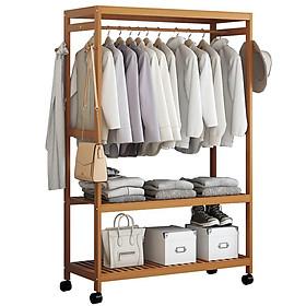 tủ quần áo khung gỗ tre RE0268