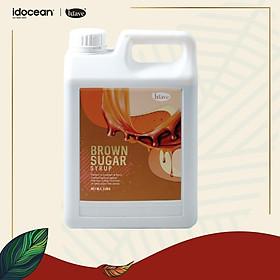Syrup Đường Nâu (Brown Sugar Syrup) - LÚAVE - 2.5kg