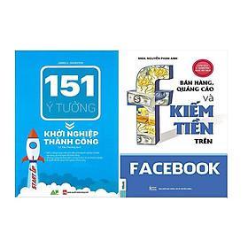 Combo 151 Ý Tưởng Khởi Nghiệp Và Bán Hàng Quảng Cáo Trên Facebook Tặng Sổ Tay Ý Tưởng Và Bookmark Hiệu Sách Mùa Hạ