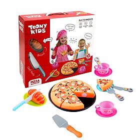 TOONY KIDS -  BỘ ĐỒ CHƠI PIZZA - PIZZA MASTER CHEF