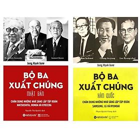 Combo Sách Doanh Nhân :  Bộ Ba Xuất Chúng Nhật Bản + Bộ Ba Xuất Chúng Hàn Quốc