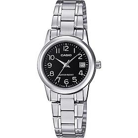 Đồng hồ nữ dây thép không gỉ Casio LTP-V002D-1BUDF