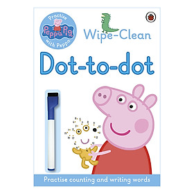 Peppa Pig: Practise with Peppa: Wipe-clean Dot-to-Dot - Peppa Pig (Paperback)