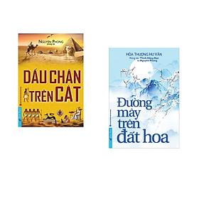 Combo 2 cuốn sách: Dấu Chân Trên Cát + Đường Mây Trên Đất Hoa