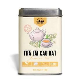 Trà Lài Cầu Đất Đặc Biệt - Hộp 110Gr (Trà hoa Nhài - Jasmine Tea) Dalat Farm