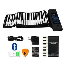 Đàn Piano Cuộn Konix PS61 - 61 phím mềm dẻo Flexible (Roll Up Piano - Midi Keyboard Controller) - Kèm Móng Gảy DreamMaker