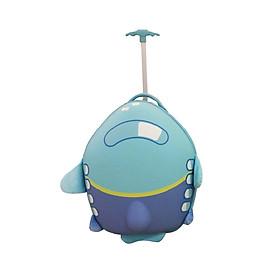Va li kéo chống xước BB Bag hình máy bay màu xanh