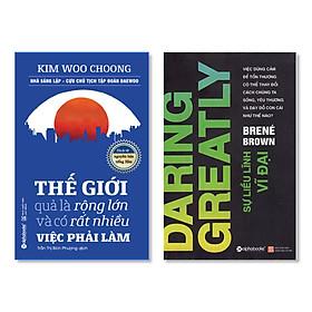 Combo Sách : Thế Giới Quả Là Rộng Lớn Và Có Rất Nhiều Việc Phải Làm + Sự Liều Lĩnh Vĩ Đại