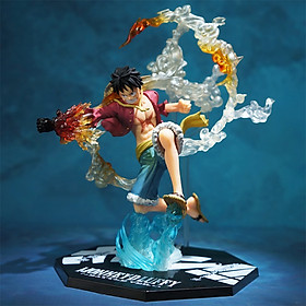 "Mô Hinh Figura Monkey D. Luffy ""Mũ Rơm"" One Piece Cao Cấp Anime Model Pirate Hand Fire Punch Luffy"