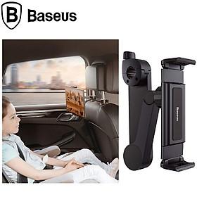 Giá đỡ điện thoại, ipad, máy tính bảng sau ghế ô tô nhãn hiệu Baseus SULR-A01 phù hợp với Smartphone/Tablet/iPad có kích thước màn hình từ 4.7 - 12.3 inch