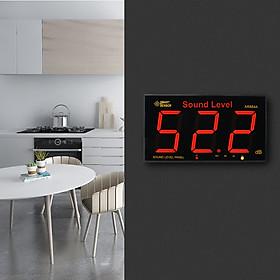 Máy Đo Cường Độ Âm Thanh Điện Tử Màn Hình LCD Treo Tường SMART SENSOR AR884A - Đen