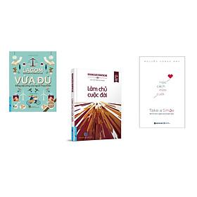 Combo 3 cuốn sách: Vừa Đủ - Đẳng Cấp Sống Của Người Thụy Điển + Làm Chủ Cuộc Đời + Học cách mỉm cười