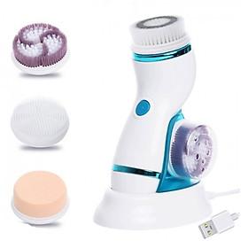 Máy massage và rửa mặt pin sạc AE-8286B 4in1 - Dòng cao cấp